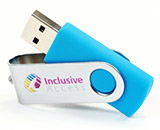 Twister USB Stick mit Logo