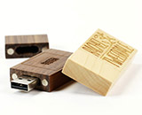 Woodland USB Stick mit Logo