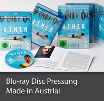 Blu-ray Disc Pressung Made in Austria