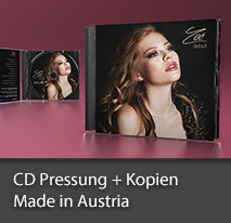 CD Disc Pressung Made in Austria
