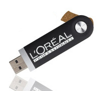 Elite Slider USB Stick mit Logo