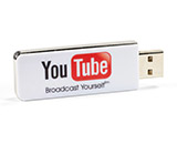 Slider USB Stick mit Logo