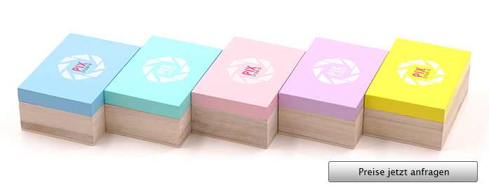 Pastel Box USB Stick Verpackung